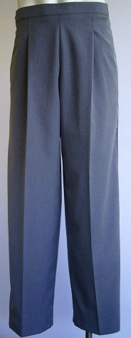 Mens Trousers MTP34 Steel Grey cl up
